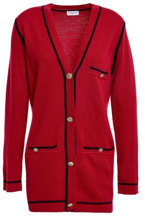 CLAUDIE PIERLOT Mélange wool-blend cardigan
