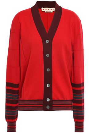 MARNI Cashmere and wool-blend cardigan
