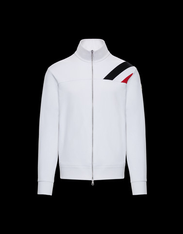 CARDIGAN White Category ZIP-UP SWEATSHIRTS Man