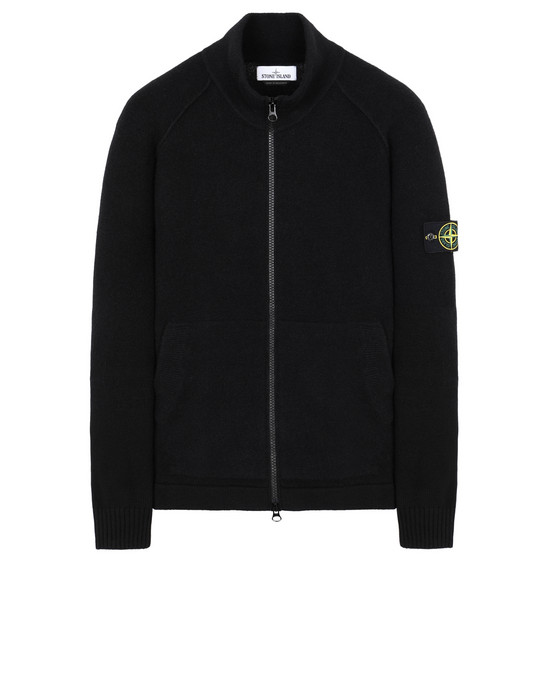STONE ISLAND 546B2 Sweater Man Black