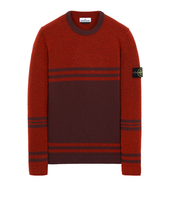 STONE ISLAND 545B2 Sweater Man Orange