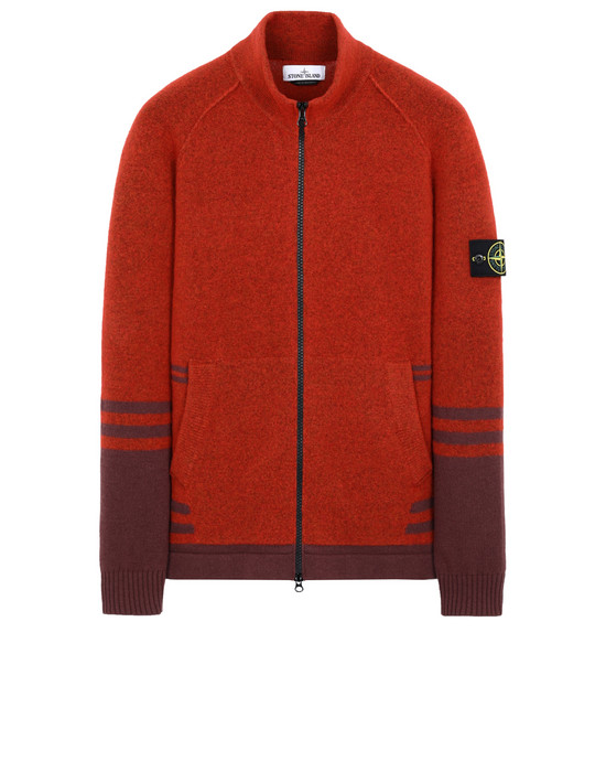 STONE ISLAND 546B2 Sweater Man Orange