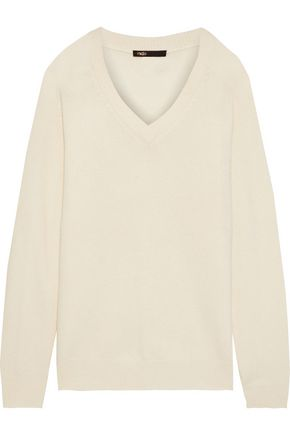 MAJE Metro wool-blend sweater