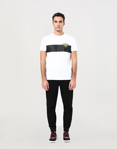 Men's cotton T-shirt with print