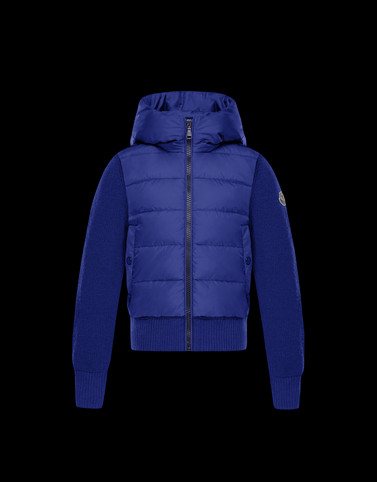 Lined jumper Blue Junior 8-10 Years - Boy