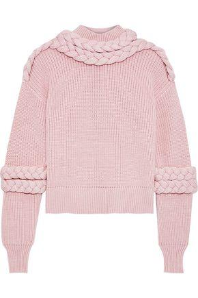 PAPER London Port braid-trimmed wool sweater