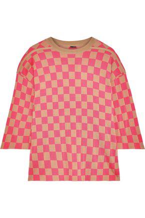 ADAM LIPPES Intarsia merino wool sweater
