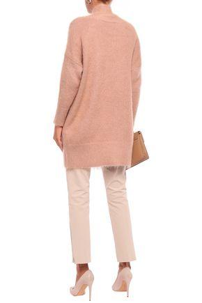 AGNONA Brushed-knitted cardigan