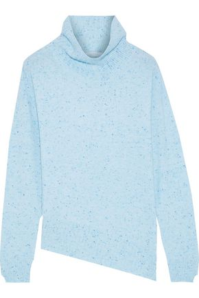 DUFFY Donegal cashmere turtleneck sweater