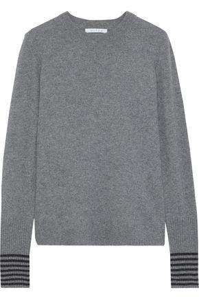 DUFFY Metallic cashmere sweater