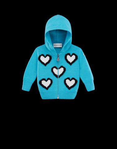 CARDIGAN Turquoise Baby 0-36 months - Girl Woman