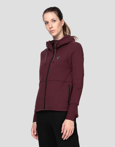 Scuderia Ferrari Puma fleece hooded sweatshirt for women