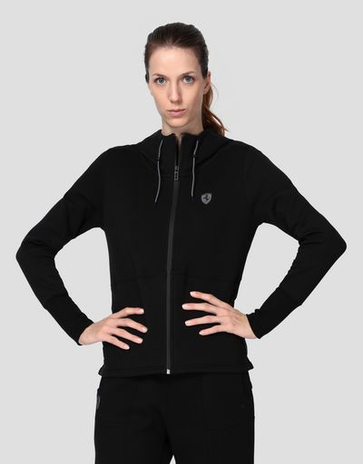 Puma Scuderia Ferrari women's fleece jacket with hood