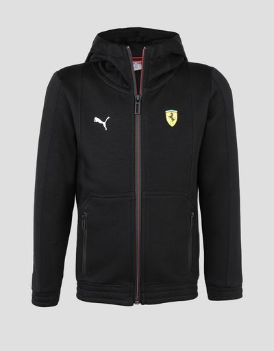 Scuderia Ferrari Puma hooded sweatshirt for boys