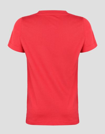 Scuderia Ferrari Puma boy's T-shirt with Ferrari Shield