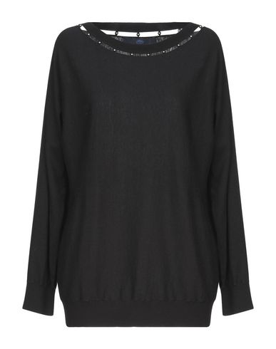 Купить Женский свитер BLUE LES COPAINS черного цвета