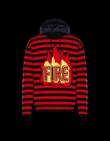 CREWNECK Red Grenoble Knitwear