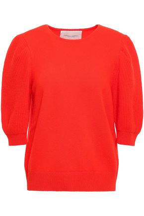CAROLINA HERRERA Wool and cashmere-blend sweater