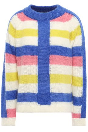 PAPER London Striped knitted sweater