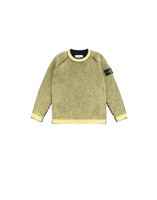 Crewneck sweater Man 512D2 REVERSIBLE  Front STONE ISLAND KIDS