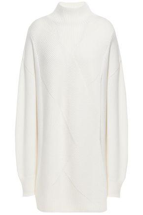WOLFORD リブ編みウール セーター
