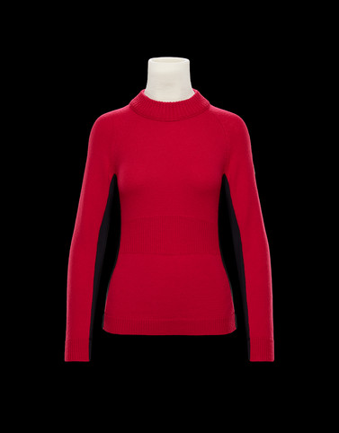 HIGH NECK Fuchsia Grenoble Knitwear Woman