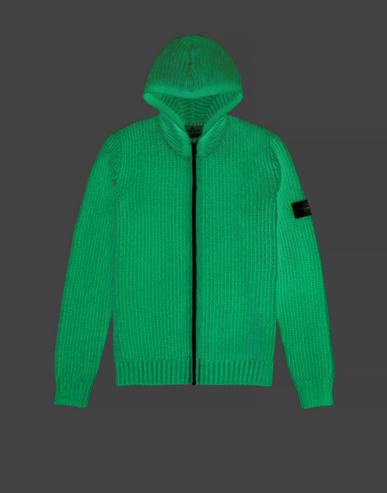 Sweater 519A5 GLOW IN THE DARK  STONE ISLAND JUNIOR - 0