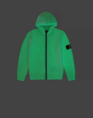 STONE ISLAND JUNIOR Sweater Herr 519A5 GLOW IN THE DARK  f