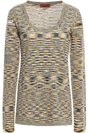 MISSONI Intarsia wool top
