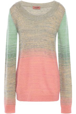 MISSONI Degradé brushed knitted sweater