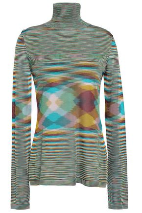 MISSONI Knitted turtleneck sweater