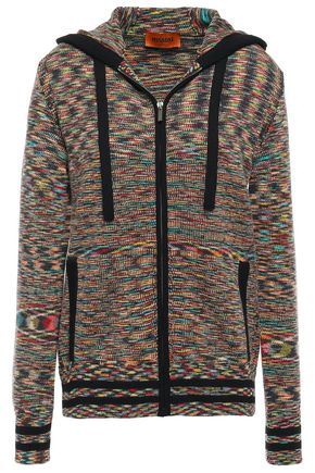 MISSONI Cashmere hooded cardigan