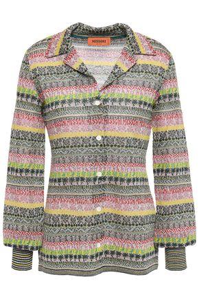 ミッソーニ メタリックかぎ針編みニット セーター