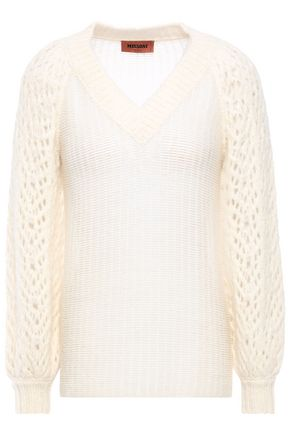 MISSONI Open-knit alpaca-blend sweater
