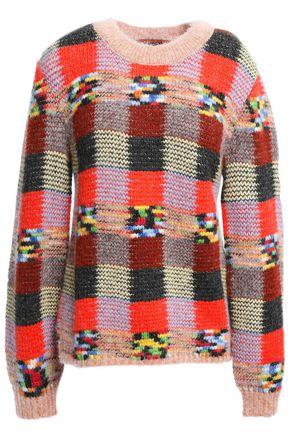 MISSONI Checked intarsia-knit sweater
