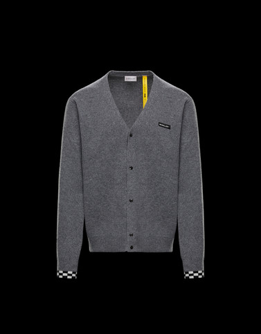 CARDIGAN Grey Knitwear & Sweatshirts Man