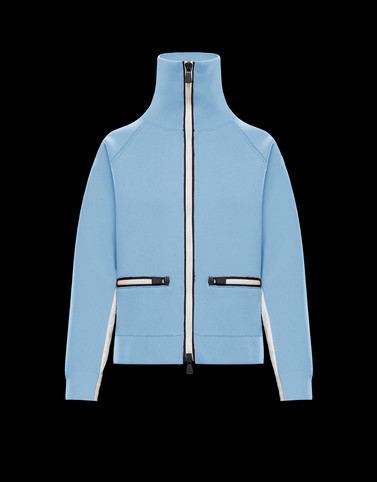 CARDIGAN Sky blue Grenoble Knitwear