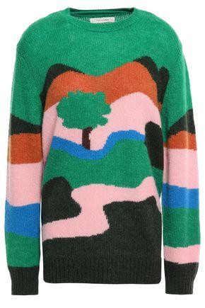 CHINTI & PARKER Intarsia-knit sweater