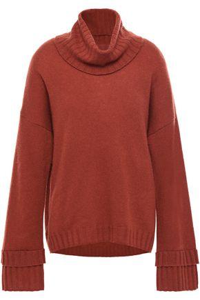 CHARLI Mélange cashmere turtleneck sweater