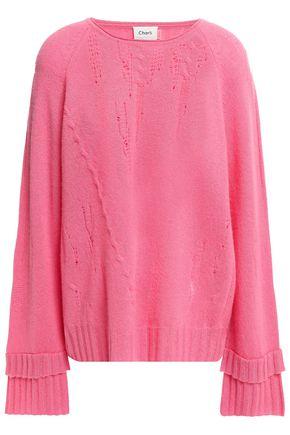 CHARLI Distressed cashmere sweater
