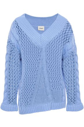CHARLI Cable-knit sweater