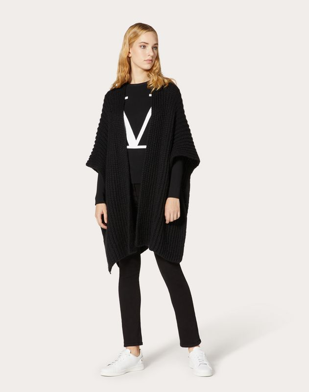 VLOGO Wool Cardigan