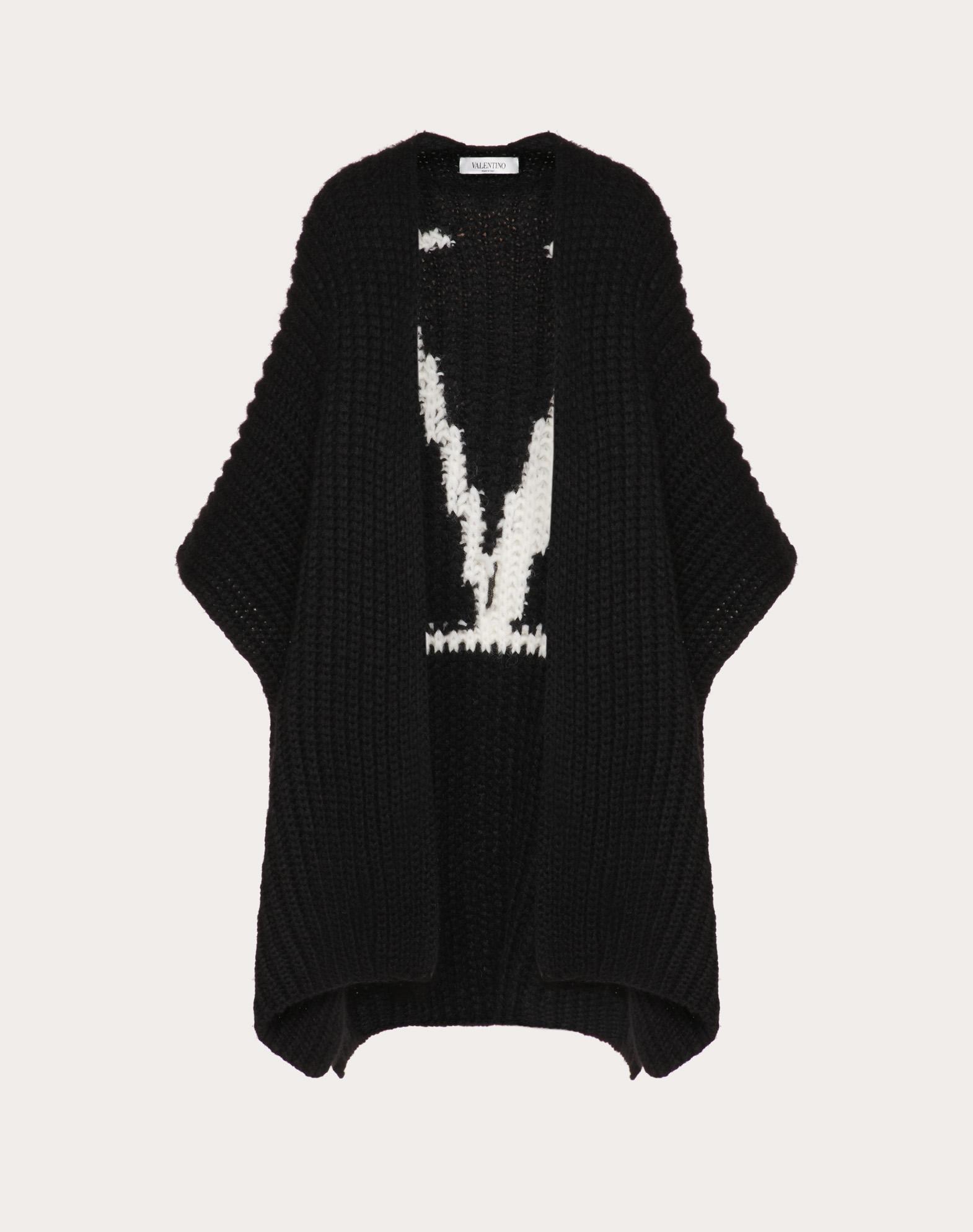 VLOGO Wool Cardigan