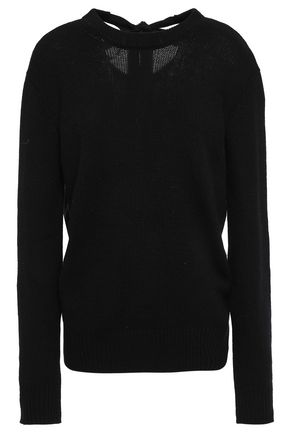 JOSEPH Bow-detailed cashmere sweater