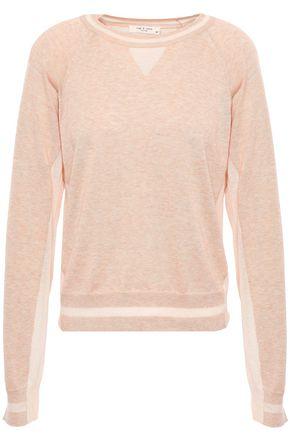 RAG & BONE Kento mélange Pima cotton sweater