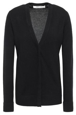 DIANE VON FURSTENBERG Wool and cashmere-blend cardigan