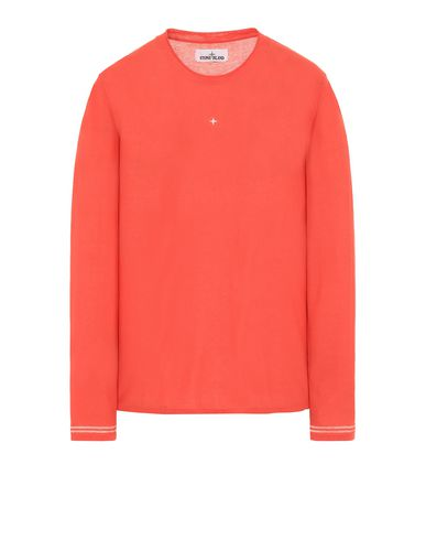 STONE ISLAND 501A9 Long sleeve sweater Man Lobster Red USD 197