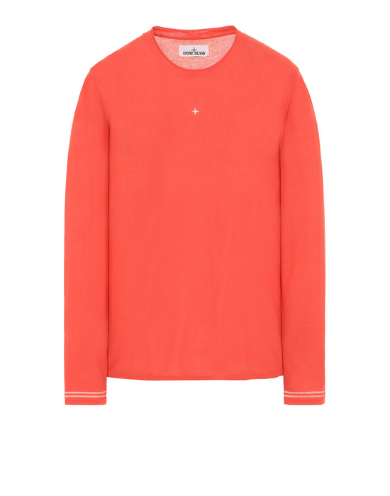 STONE ISLAND 501A9 Long sleeve jumper Man Lobster Red