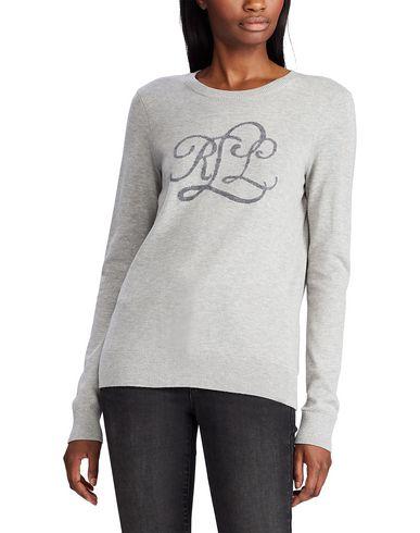 Фото 2 - Женский свитер LAUREN RALPH LAUREN светло-серого цвета