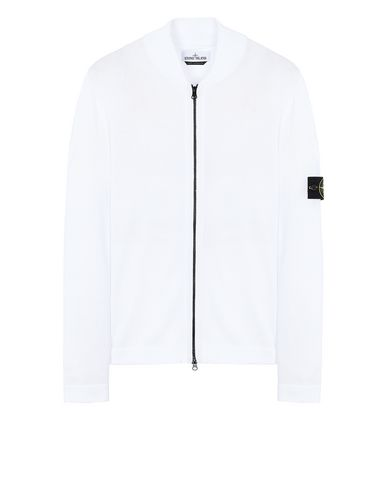 STONE ISLAND 519B3 Sweater Man White EUR 212